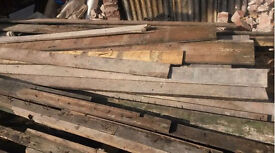 Reclaimed old timber Wood - Floor Boards and beams