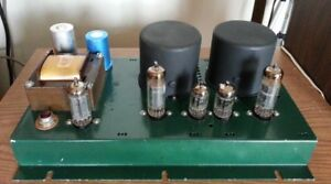 Stereo SE Tube Power project amplifier