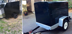 I am looking for small metal trailer