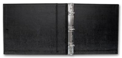 3 Ring Check Binder 3 On- A-page Business Compact Check Book Binder Black