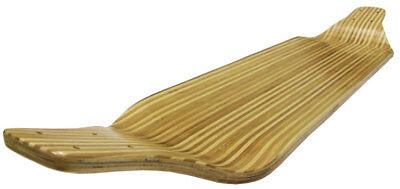 ZEBRA BAMBOO INLAY Drop Down LONGBOARD SKATEBOARD Cruiser Deck