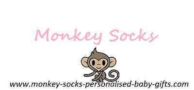 Monkey Socks Personalised Gifts