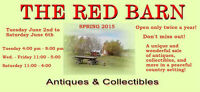 JUNE 2 - JUNE 6  RED BARN ANTIQUES SALE