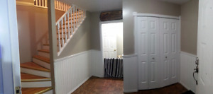 2 Bedroom fully furnished top floor of house or 450$ a week