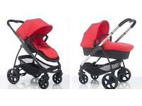 Icandy strawberry 2 with maxi cosi pebble car seat