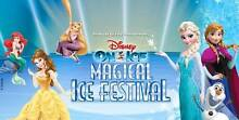 4 Tickets DISNEY ON ICE Thurs 2nd June PERTH ARENA Hillarys Joondalup Area Preview