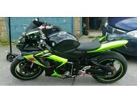 Suzuki gsxr 600 k6 rare colours , swap px road legal motorcross or enduro