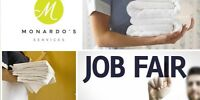 Hiring Event at Agilec for Housekeepers, and Room Attendants.