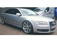 Audi A8, 3.0tdi Quattro SE, Modified, not BMW, VW, Mercedes, Range Rover, show car