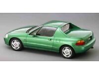 HONDA CRX Civic Esi del Sol EH6 Automatic Gearbox Green BREAKING PARTS 1992-98 Listing 4 WHEEL NUT