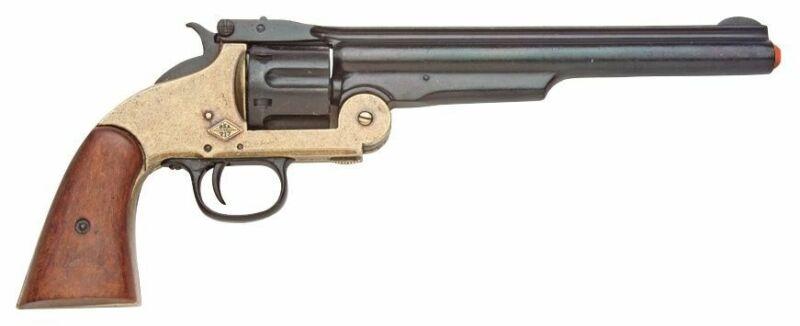 Denix Smith & Wesson M1869 Replica - Brass Black Finish