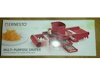 Ernesto multi purpose grater - brand new
