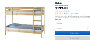 """Looking for"" IKEA- Mydal - bunkbeds"