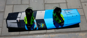 Planche de wake Hyperlite Tribute 142 / Ronix District