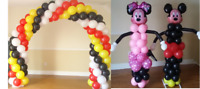BALLOON TWISTING AND BALLOON DECORATION @ REASONABLE RATES