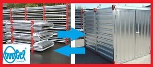 Steel Container Storage Shed ATV Shed Storage