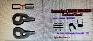 """02-08 Dodge RAM lowering kit...drop front from 1-3"""" and rear 2"""""""