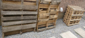 Wood Pallet - Shipping Building Materials - (9) PALLETS - FREE