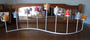 Candle Holder, Christmas, Home Decor, Mantle, Kitchen