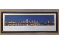 New York City Framed Picture Black