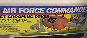 Air Force Commander Grooming Dryer Excellent condition.  Retails