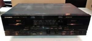Pioneer Stereo Double Casstte Deck