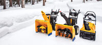 Snowblowers Sales & Repair, Snowmobile & ATV repairs