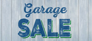 GARAGE SALE THIS SUNDAY 9:30am-4:00pm!