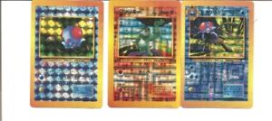 1996 POCKET MONSTERS HOLOGRAPHIC STICKERS