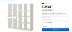 KALLAX Shelf - White