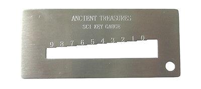Schlage Key Gauge Decoder Rekey Removal Locksmith Reking Pins Tool Hardware