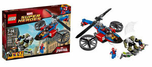 **BRAND NEW SEALED LEGO MARVEL SPIDER HELICOPTER RESCUE #76016**