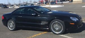 2004 Mercedes-Benz SL500 AMG Cabriolet Convertible 24600km roues