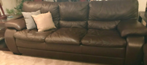 Couch & Loveseat  leather 250