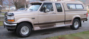 4x4 Extended Cab F150 XLT