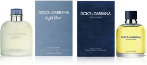 New LARGE 200ml bottle Dolce Gabbana Homme & Light Blue Cologne