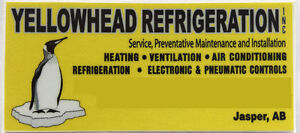 Well Established Refrigeration Business Located in Jasper, AB