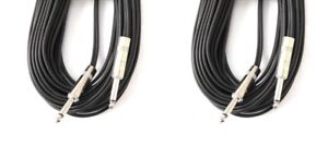 2 - Yorkville 100 ft Speaker Cables (Used Once)