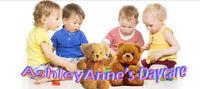 AshleyAnne's Daycare ***1 spot avail now***
