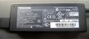 Toshiba Laptop AC Adapter Power Supply