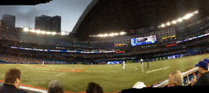 INDIVIDUAL TORONTO BLUE JAYS TIC KETS ROW 4 FROM FIELD 1ST BASE