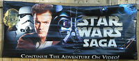 STAR WARS *PROMOTIONAL* DOUBLE-SIDED VINYL BANNER