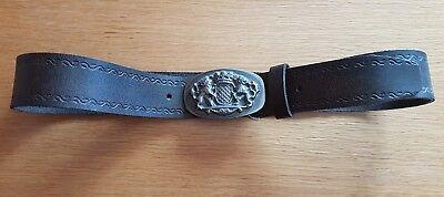 Trachtengürtel aus Leder für Männer (neu) - 85 - Tracht Für Männer