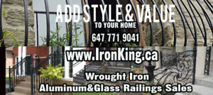 Aluminum and Glass railing Special