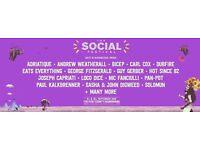 SOCIAL FESTIVAL - SATURDAY - TWO TICKETS