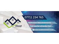 Bathroom Refurb Specialists - Free Estimates + Work Guaranteed - 10% Summer discount available!