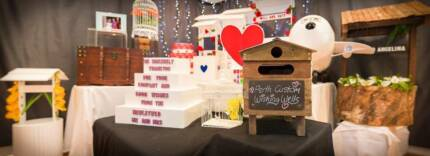 For Hire Wedding Wishing Well Mirrored Card Box