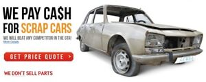 FAST CASH FOR SCRAP USED JUNK CARS SAME DAY FREE TOWING