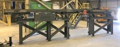 Carrier 25ft Stainless Vibrating Conveyor 12 Inch Stainless Shaker Conveyor