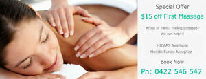 $15 off First Visit to Massage Hut Robertson Brisbane South West Preview